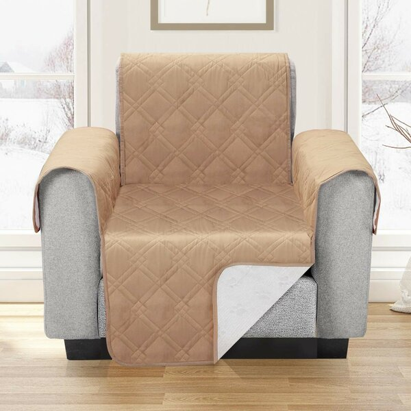 Waterproof T-Cushion Armchair Slipcover By Winston Porter