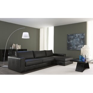 Nightfly Leather Sectional