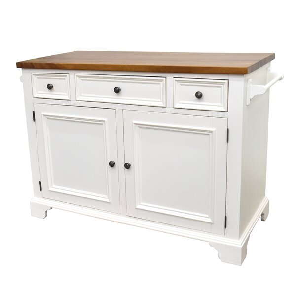 Gerson Kitchen Island by Darby Home Co