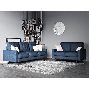 Obando Diego 2 Piece Standard Living Room Set by Corrigan Studio®