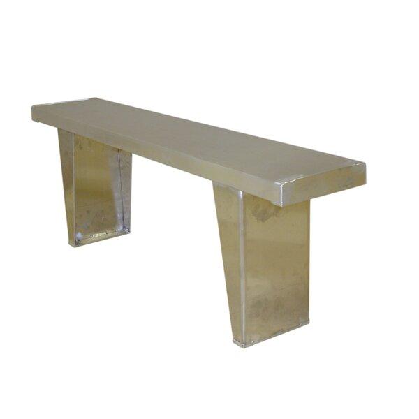 Single Aluminum Picnic Bench by PVIFS PVIFS