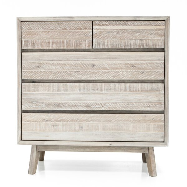 Britton 5 Drawer Chest by Union Rustic