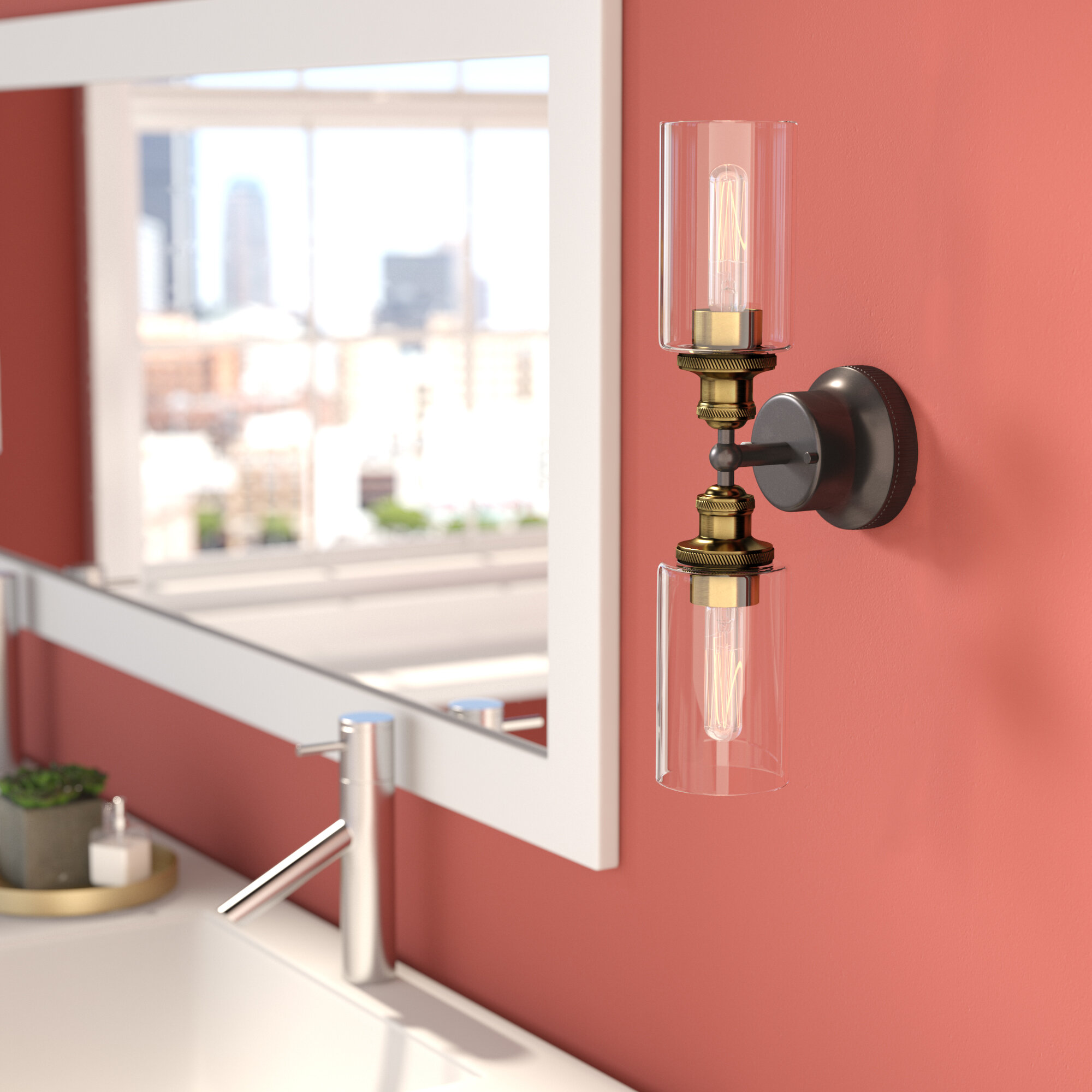Trent Austin Design Sienna 2 Light Bath Bar Amp Reviews