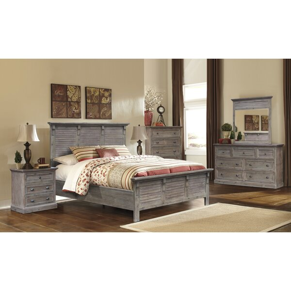 Lowenstein Panel Configurable Bedroom Set by Rosecliff Heights