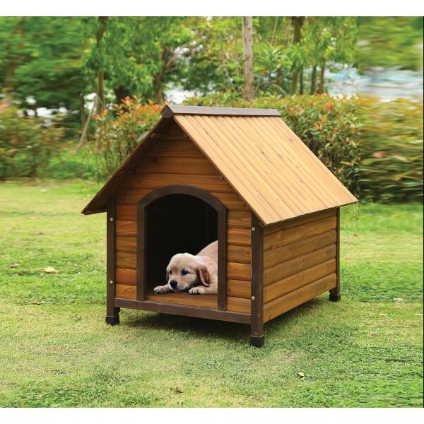 Munsch Woody Dog House by Tucker Murphy Pet