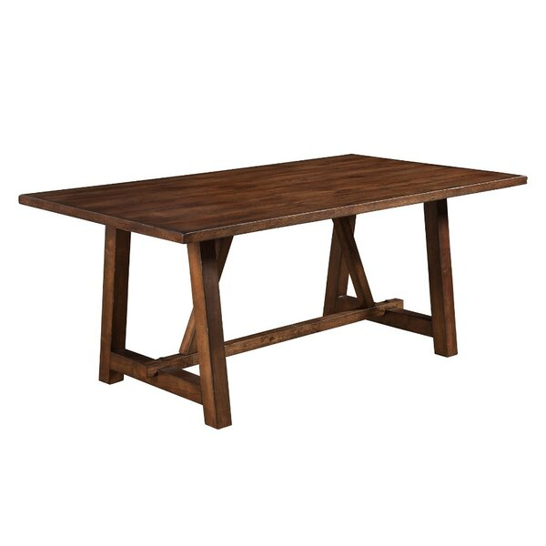 Anderle Rubberwood Dining Table by Gracie Oaks