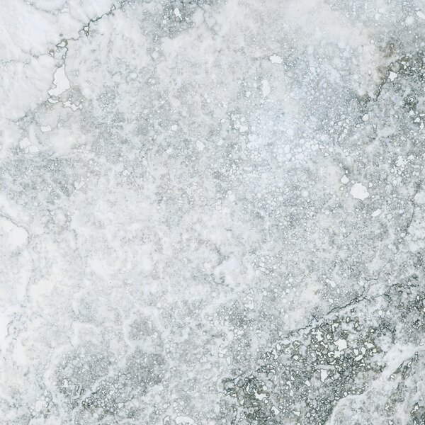 Baroque 18 x 18 Porcelain Field Tile in Blanco by Parvatile