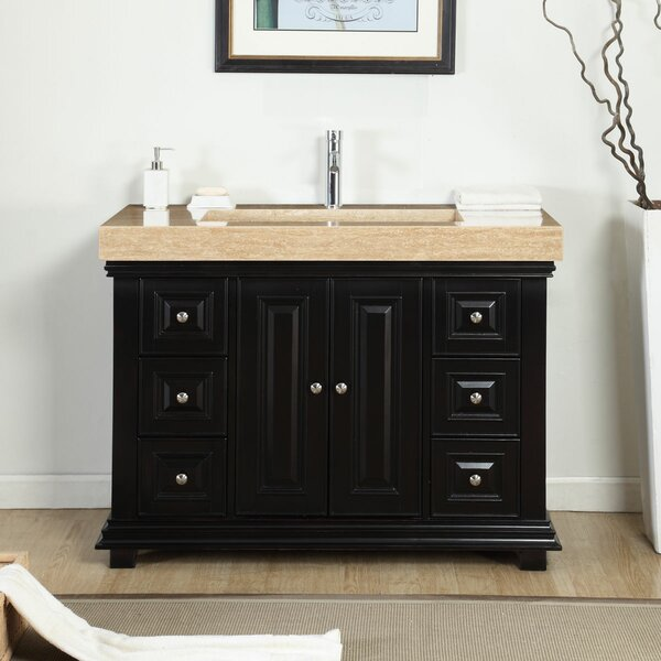 48 Single Integrated Bathroom Vanity Set by Bloomsbury Market