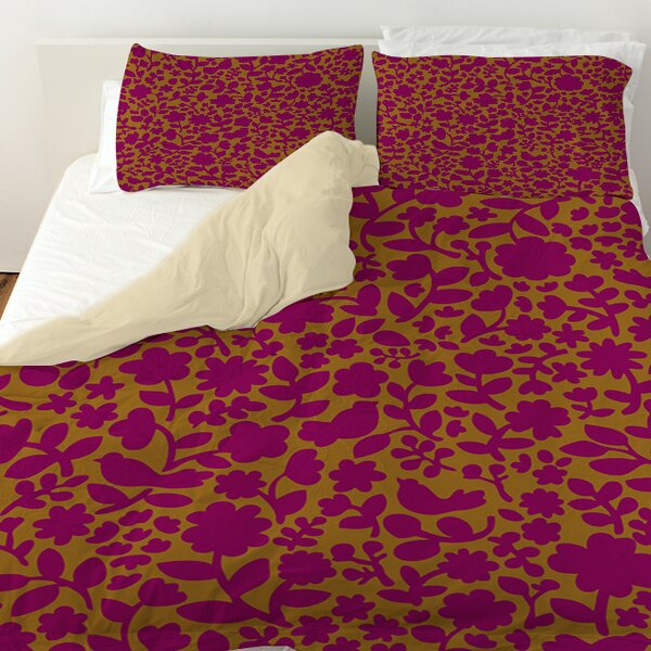 Ambrose Bird Duvet Cover by Manual Woodworkers & Weavers