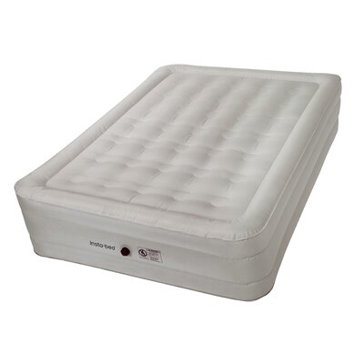 "14"" Queen Raised Air Mattress with Electric Pump Insta-Bed Size: Queen"
