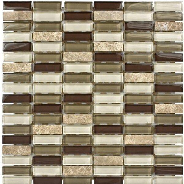 Santa Monica 0.625 x 2 Glass Mosaic Tile by Parvatile