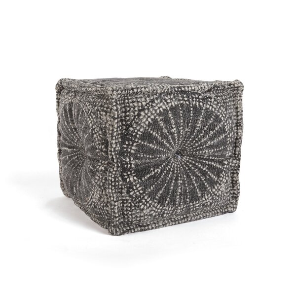 Edina Square Tufted Pouf by World Menagerie