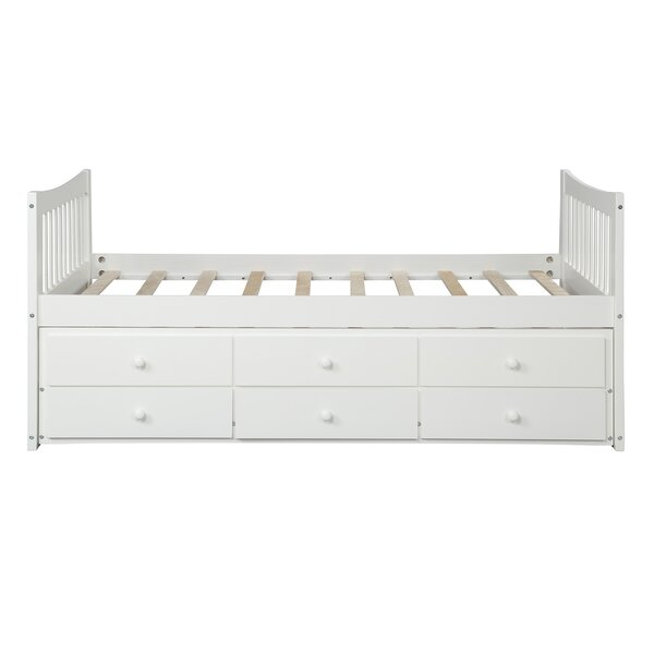 Clayhatchee Kids Twin Bed with Trundle and Drawers by Harriet Bee