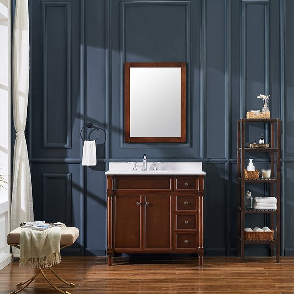 Norwich 37 Single Bathroom Vanity Set by Ove Decors