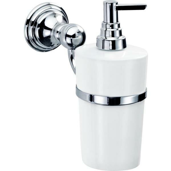 Martindale Wall Mounted Porcelain Soap & Lotion Dispenser by Latitude Run