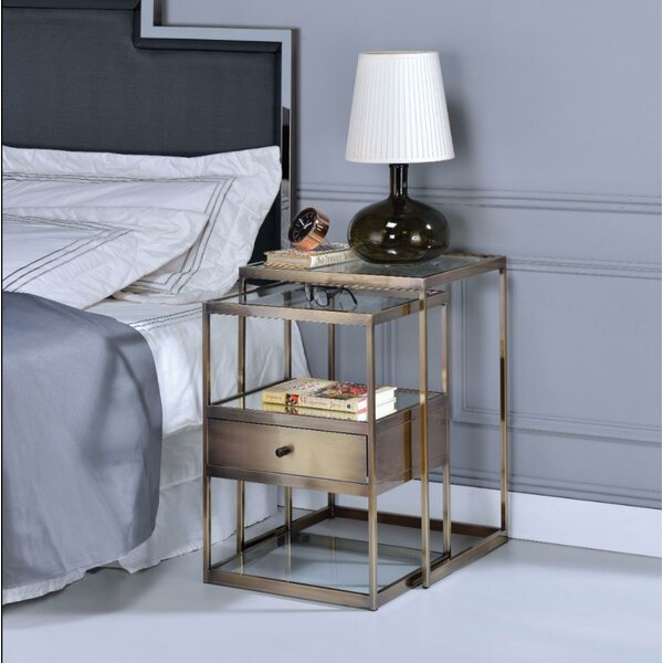 Easton Stylish 2 Piece Nesting Tables by Corrigan Studio Corrigan Studio