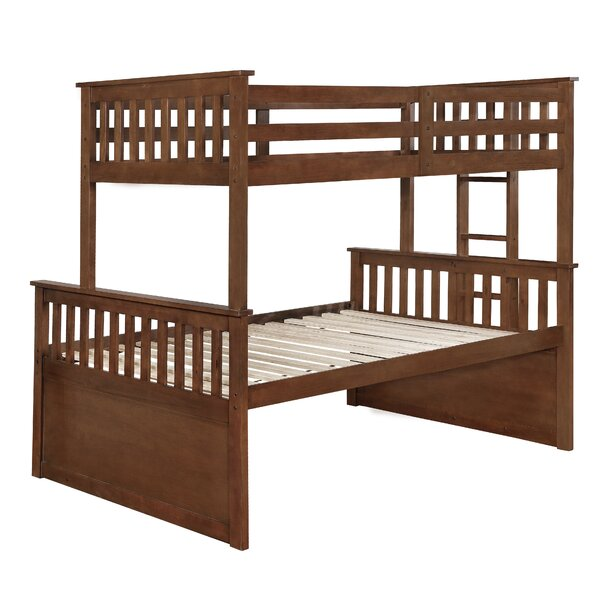Leominster Bunk Bed with Trundle and Drawers by Harriet Bee