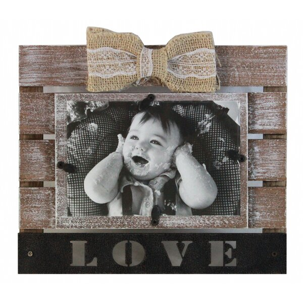 Dolder Grand Ribbon Love Picture Frame by Gracie Oaks