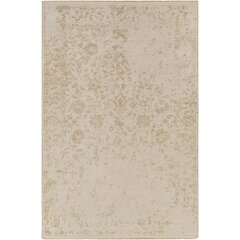 Gulshan Hand-Knotted Khaki Area Rug by Bungalow Rose