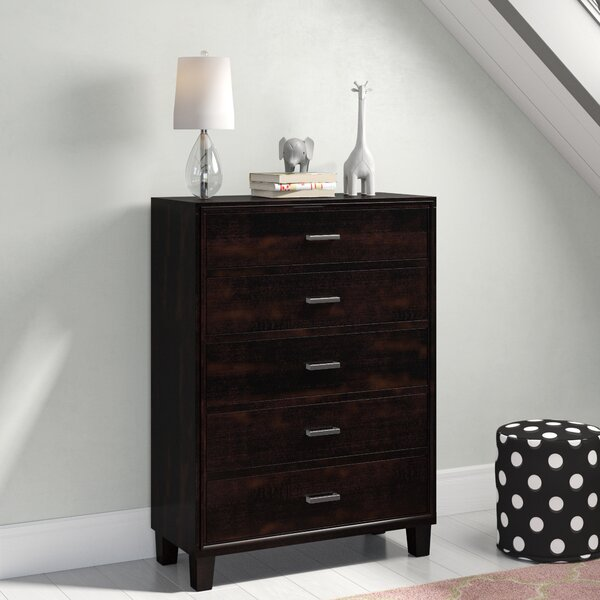 Laguna 5 Drawer Standard Dresser/Chest by Hokku Designs