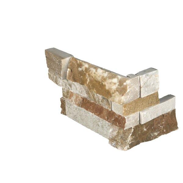 6 x 18 Quartzite Splitface Tile in Gold/Brown by MSI