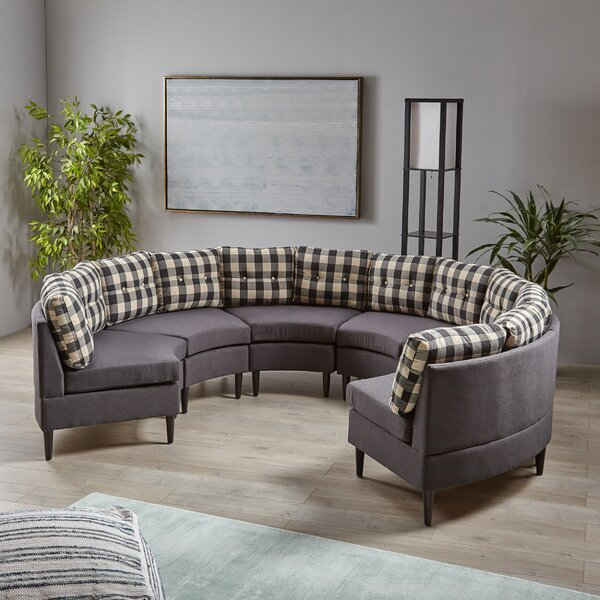 Zadie 6 Seater Modular Sectional by Mercer41
