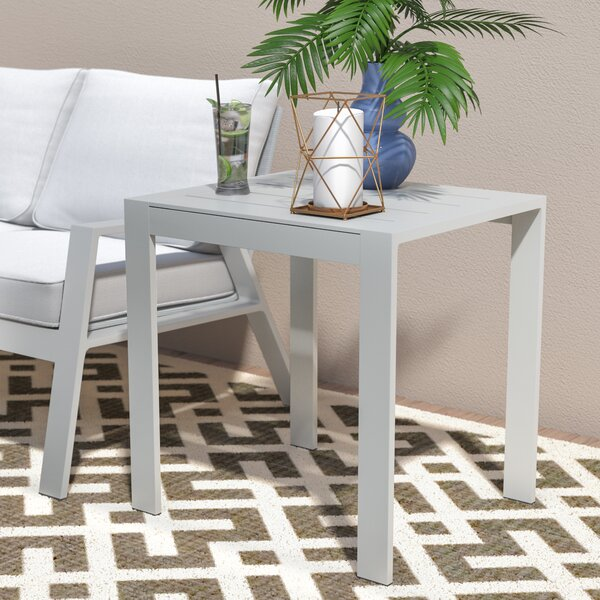 Alexis Contemporary End Table by Ivy Bronx