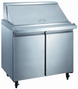 Commercial Food Prepare Table 10 cu. ft. Energy Star Counter Depth All-Refrigerator by EQ Kitchen Line