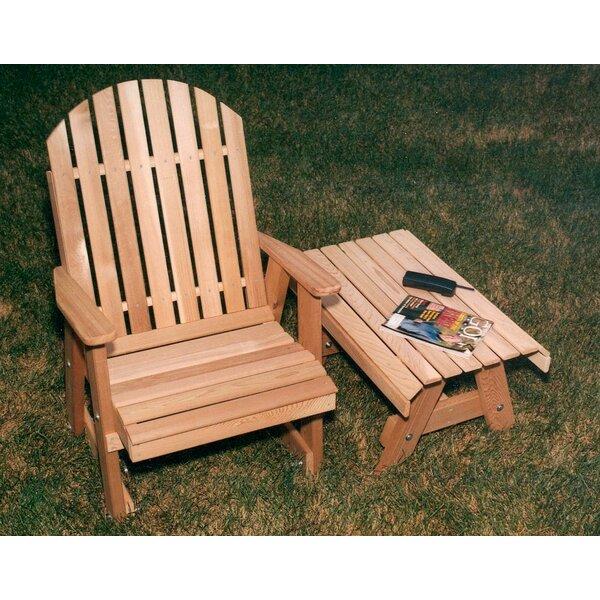 Cavett Fanback Patio Dining Chair by Rosalind Wheeler