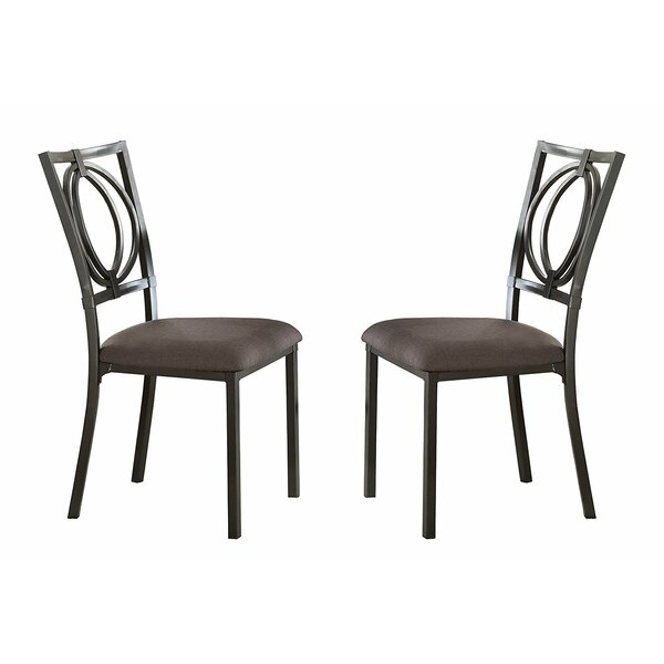 Atlas Upholstered Dining Chairs (Set of 2) by Red Barrel Studio