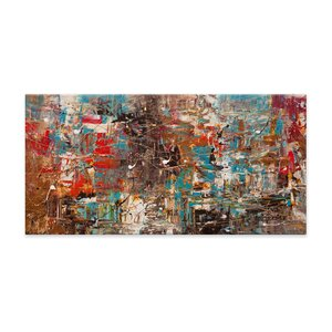 Cant Stop by Carmen Guedez Painting Print on Canvas by Artefx Decor