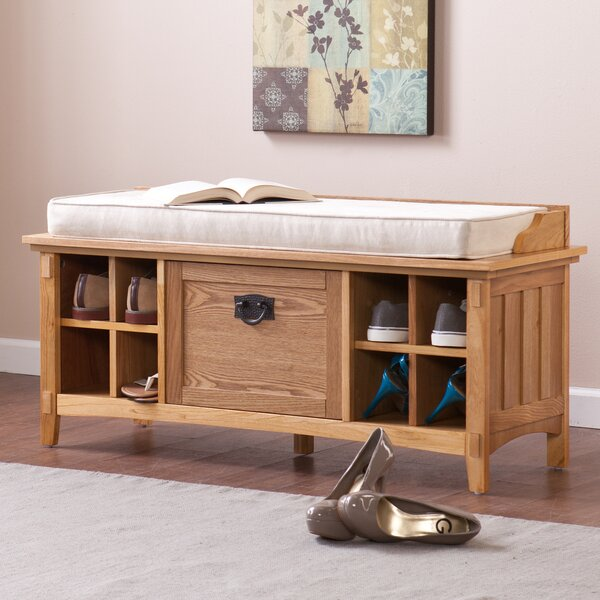 Arianna Artisan Storage Bench By Wildon Home® 2019 Coupon