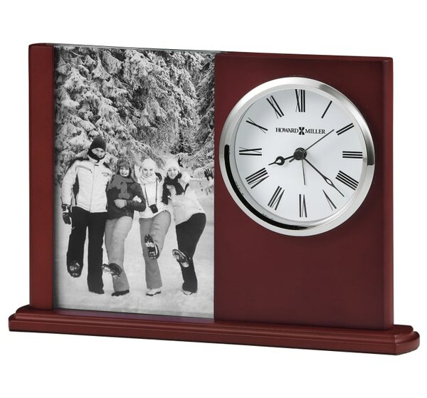 Portrait Caddy Il Tabletop Clock by Howard Miller®Portrait Caddy Il Tabletop Clock by Howard Miller®