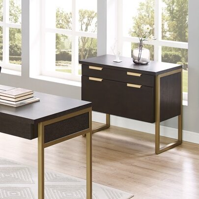 Miracle 2 Drawer Lateral File Cabinet by Brayden Studio