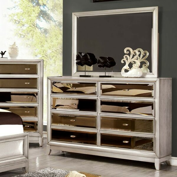 Willisville 8 Drawer Double Dresser by House of Hampton