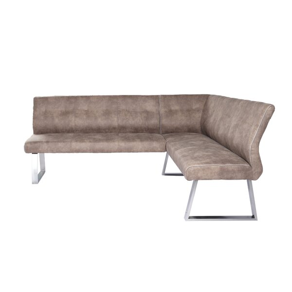 Calles L-Shaped Upholstered Bench by Foundry Select