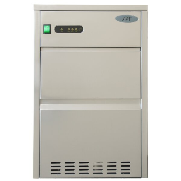110 lb. Daily Production Freestanding Ice Maker by Sunpentown