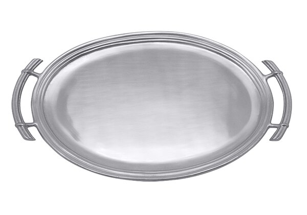 Classic Oval Serving Tray by Mariposa