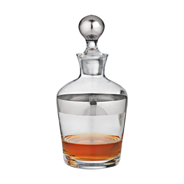 Madison Avenue Whiskey 32 Oz. Decanter by Wine Enthusiast