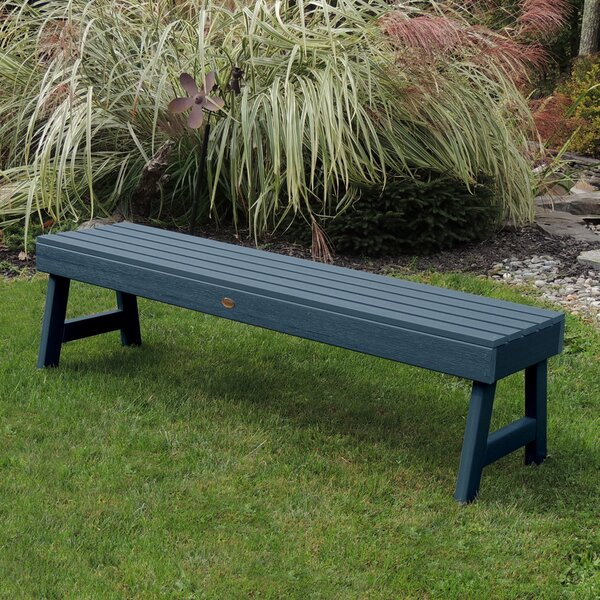 Trigg Backless Plastic Picnic Bench