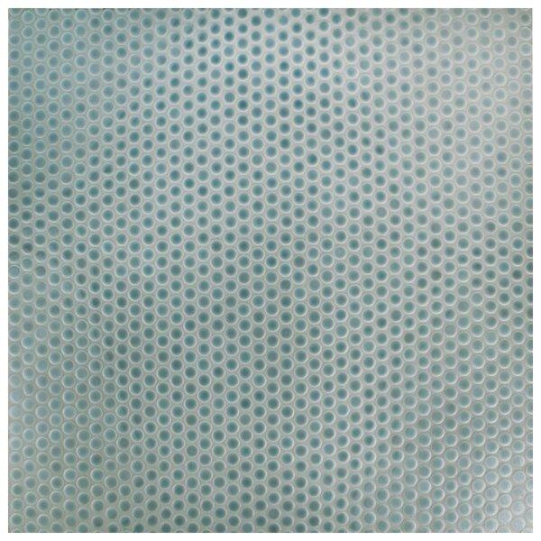 Penny 0.8 x 0.8 Porcelain Mosaic Tile in Slate by EliteTile