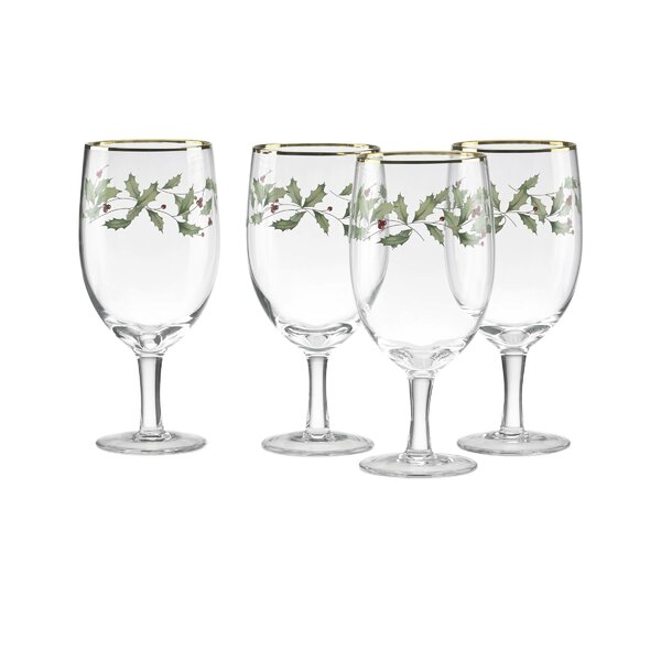 Holiday 14 oz. Iced Beverage Glass (Set of 4) by Lenox