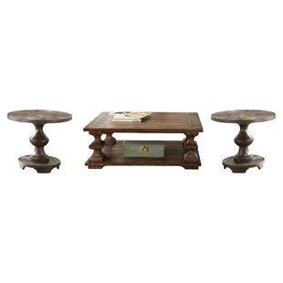 Find Howardwick 3 Piece Coffee Table Set by Greyleigh