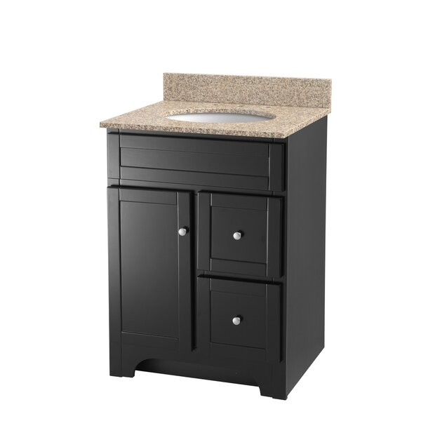 Deanfield 25 Single Bathroom Vanity Set by Hazelwood Home