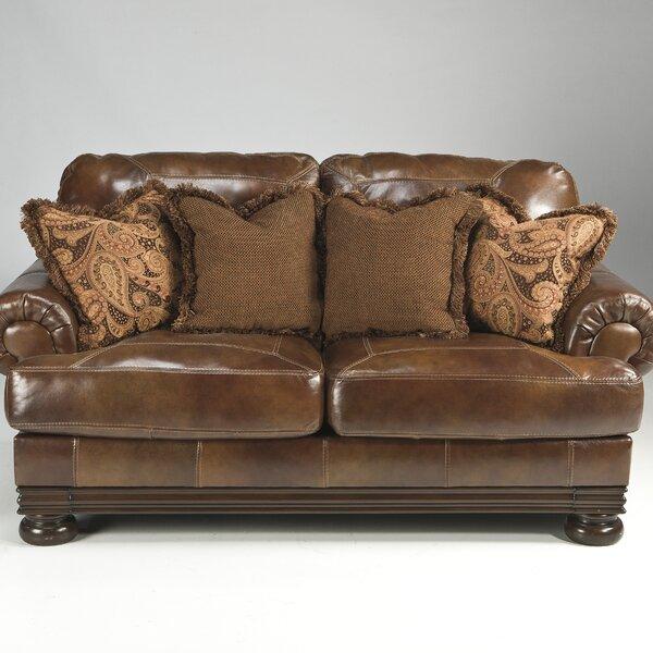 Hutcherson Leather Sofa by Signature Design by Ashley