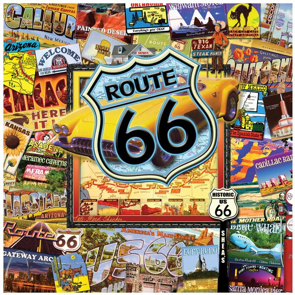 Route 66 II Occasions  Trivet by Thirstystone