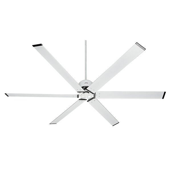 96 Industrial 6-Blade Ceiling Fan by Hunter Fan