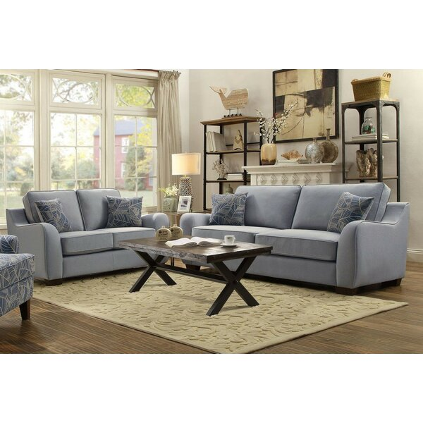 Hefley 2 Piece Living Room Set by Alcott Hill