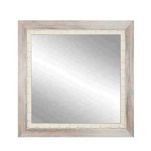 Best Reviews Weathered Beach Wall Mirror By Brandt Works LLC