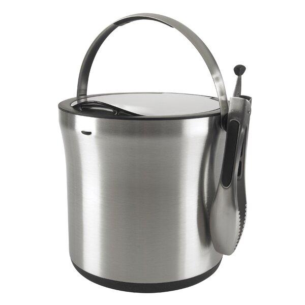 Steel™ Ice Bucket And Tong Set By Oxo.